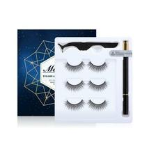 Magic/Magnetic Eyelashes Set 5 Magnets 3D Mink False Eyelashes Ship From USA Bea image 7