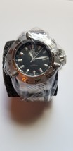 Invicta 1152 Subaqua Noma III GMT Black Sunray Dial Black Polyurethane Band - $350.00