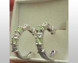 Peridot and diamond hoops ss 2 thumb155 crop
