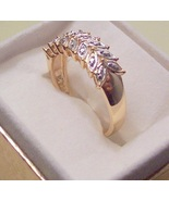 Diamond Accent Leaf Ring - $35.00