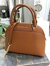 MICHAEL KORS EMMY SAFFIANO LEATHER MINI SATCHEL or MD CROSSBODY BAG LUGGAGE - $119.99