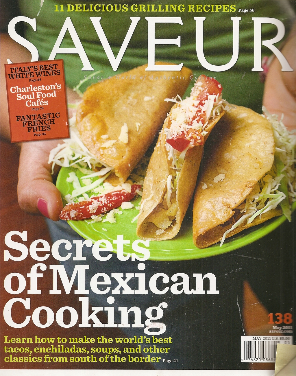 Primary image for SAVEUR  # 138 MAY 2011