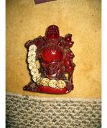 Chinese Laughing Money Buddha Sculpture - $35.00