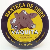 Manteca De Ubre La Vaquita -Topical Analgesic - $11.78