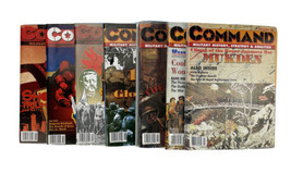 Lot of 7 Command Magazines Unpunched Markers 1990's NOS - $147.51