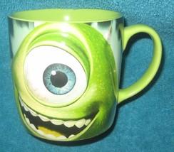 DISNEY STORE MIKE Wazowski Monsters Inc. Coffee Cup. Brand New. - $19.79