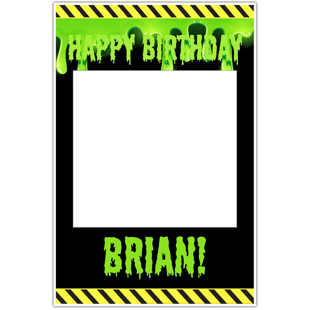 Ghostbusters Birthday Selfie Frame Social and 50 similar items