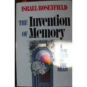 Invention Of Memory Rosenfield, Israel
