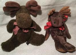 Boyds Bears Flat Windberg Moose Plush Bears In The Attic Millie LaMoose ... - $19.99