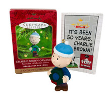 Hallmark Keepsake Charlie Brown Ornament A Snoopy Christmas 2nd in Colle... - £5.90 GBP