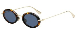 Christian Dior HYPNOTIC 2 Havana/Blue (2IK/A9) Sunglasses NEW AUTHENTIC  - $219.73