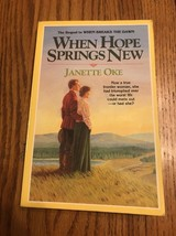 When Hope Springs New by Janette Oke Paperback Ships N 24h - $16.81