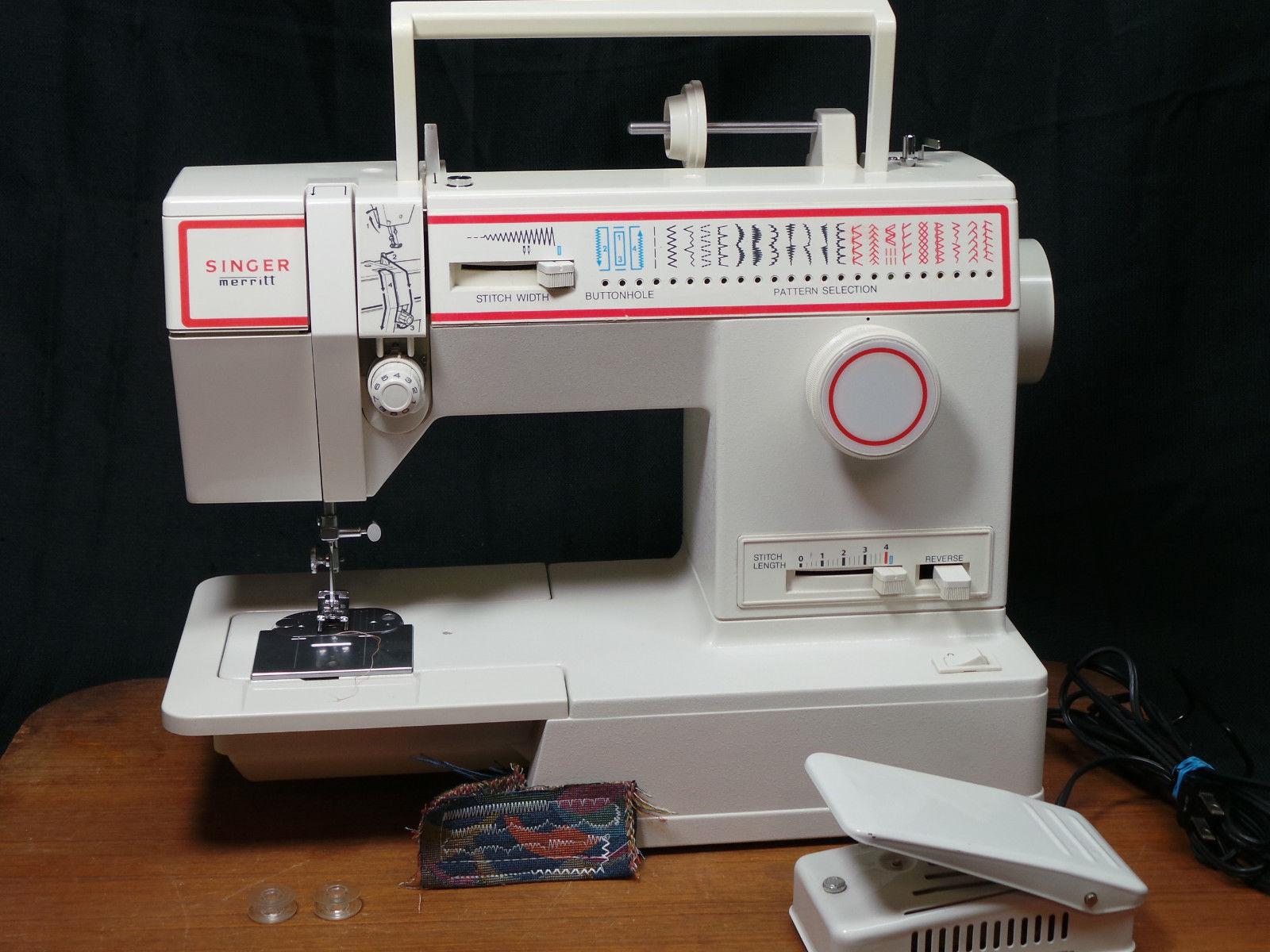 Singer Merritt 4552 Sewing Machine Portable And 12 Similar Items Necchi Supernova Threading Diagram Vintage S L1600