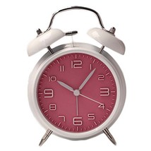 George Jimmy Cute Student Alarm Clock Stylish Silent Bedside Alarm Clock #24 - $42.35