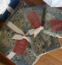 Pottery Barn Sabyasachi Duvet Cover Set Blue King 2 King Shams Maharani ... - $278.07