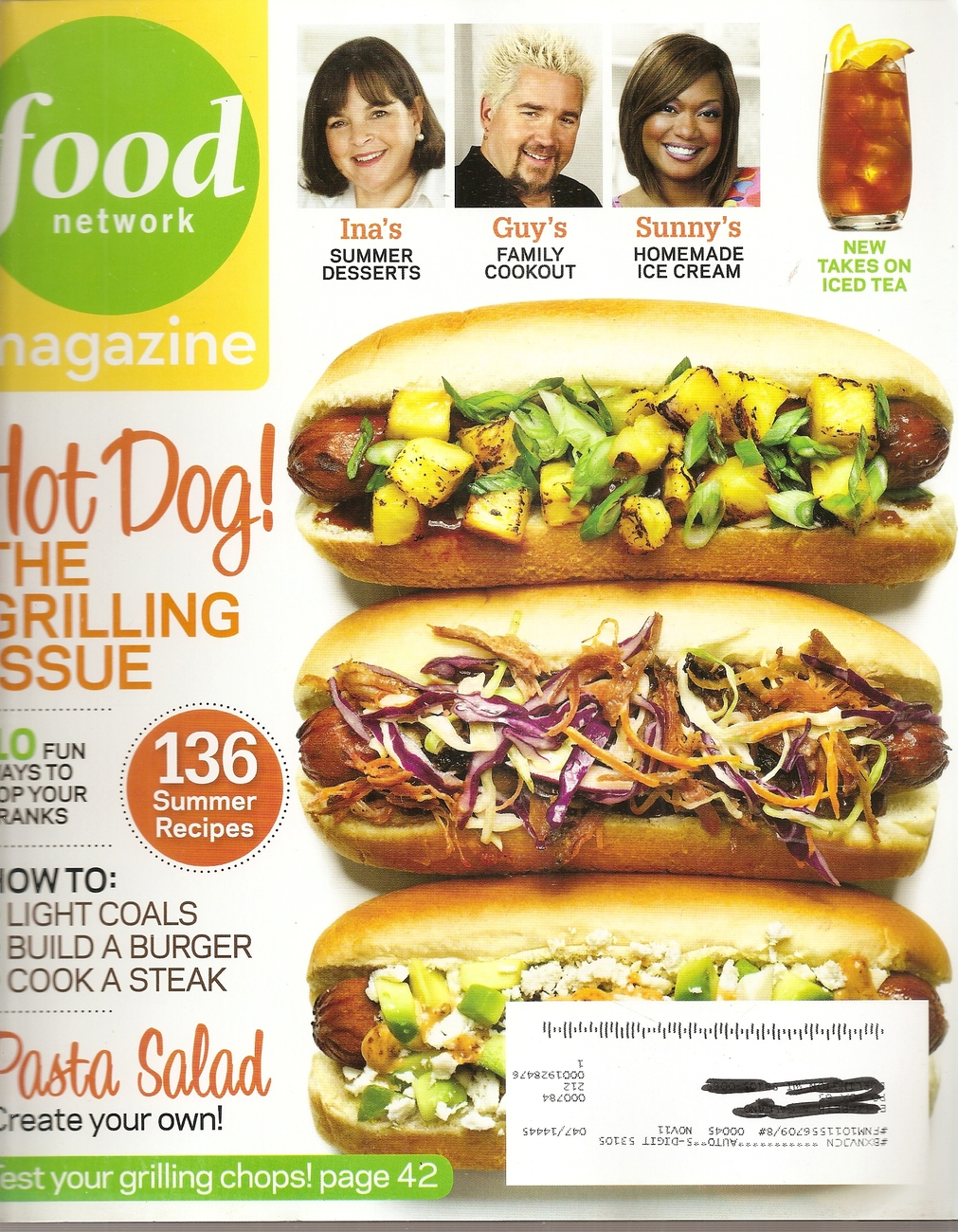 Primary image for FOOD NETWORK  JUNE  2011