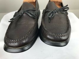 Cole Haan Men's Size 9M Country Brown Leather Loafers Driving Mocs Shoes image 4