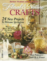 Floral & Nature Crafts Magazine Better Homes and Gardens May 1995  - $6.99