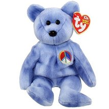 TY Beanie Baby - PEACE 2003 the Bear (Blue Version) (8.5 inch) - $11.36