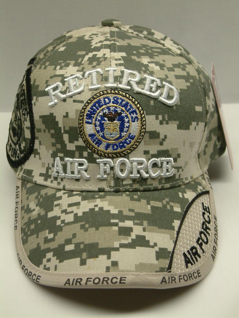 AIR FORCE - RETIRED - ACU Digital Camo Cap and 50 similar items 01b02cf6d116