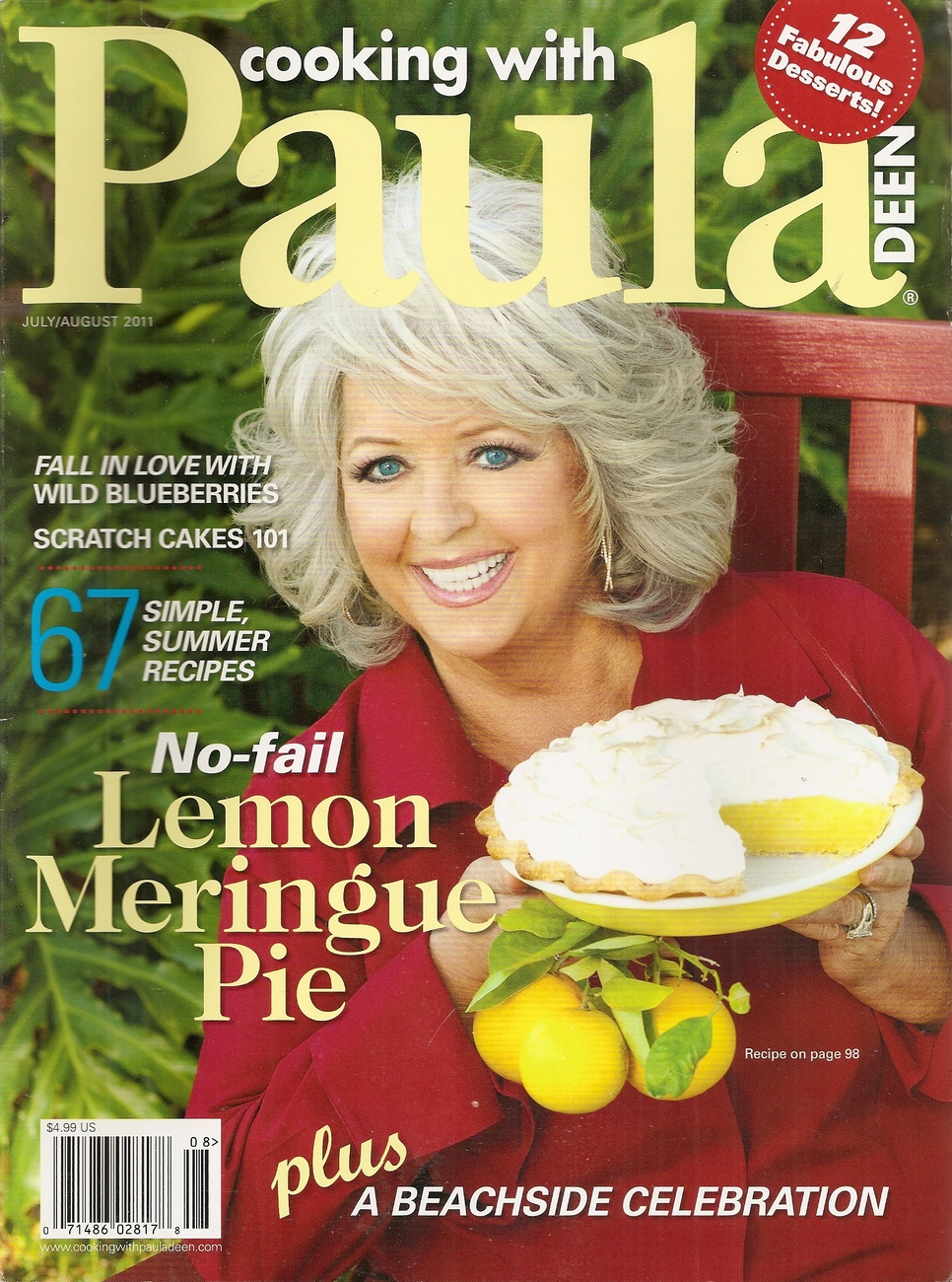 Primary image for COOKING WITH PAULA   JULY/AUGUST 2011