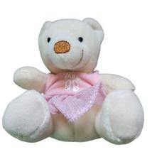 "BAB Build-A-Bear Velvet Teddy Plush Stuffed Animal Ballerina 2006 Mini 4"" - $9.99"