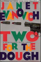 Two for the Dough Stephanie Plum mystery by Janet Evanovich 1996 1st ed ... - $6.00