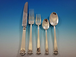 Trianon by Tuttle Sterling Silver Flatware Set 12 Service 60 pieces Dinn... - $8,500.00