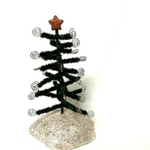 Christmas Tree Ornament Hanger On Snow Mound Glitter - $27.72