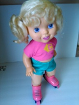 Tyco California Action Figure Baby Roller-Blade Skate Doll Vintage 1991 - $25.00