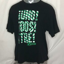Green Day 2013 sz 2XL Berkeley LA CA Concerts T Shirt Top Cotton Front Back logo - $48.51
