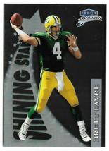 1998 Brett Favre Fleer Brilliants Rising Stars Insert - Green Bay Packers - $1.89