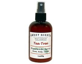 Tea Tree Body Spray - Handmade Spray / Body Spray / Room Spray / Body Mist / Ess - $8.49