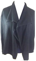 Ralph Lauren Womens Ladies RL Fine Knit Cardigan Size Small Black RRP £125 - $86.03