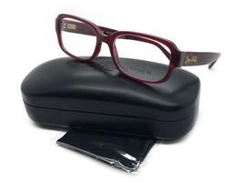 Authentic Coach Eyeglasses HC6105 5450 Aubergine Frames 53mm Rx-ABLE - $77.57