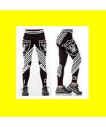 OAKLAND RAIDERS Leggings #12 Women NFL Fan Gear - High Quality - Team Sp... - $34.99