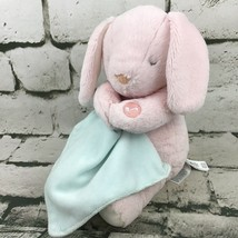Carters OS Pink Bunny Rabbit Musical Lullaby Plush Soft Lovey Crib Toy - $29.69