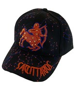 Zodiac Horoscope Sign Adult Size Adjustable Baseball Caps (Sagittarius) - $12.95