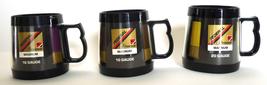 Lot three vintage advertising mugs Federal Cartridge Co shotgun shells a... - $26.00
