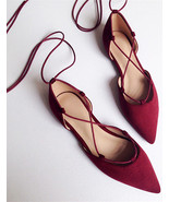 red wedding flats,flat red shoes for wedding,wedding shoes blush,red bri... - £30.95 GBP