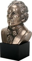Ebros Founding Father Alexander Hamilton Bust Statue US Constitution Historic Fi - $34.99