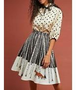 Anthropologie Winter Fox Skirt by Corey Lynn Calter Sz XL - NWT - $134.99