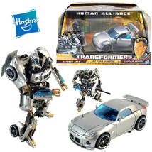 TRANSFORMERS AUTOBOT JAZZ CAR HUMAN ALLIANCE CAPTAIN LENNOX ACTION FIGUR... - $51.90