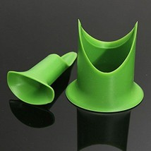 2Pcs Pepper Tomato Coring Tools Creative Kitchen Helper Pepper Corer-Green - $6.92
