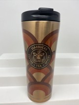 STARBUCKS 16oz Tumbler COPPER Siren 'Coffee Tea Spices' Stainless 2016 - $39.59
