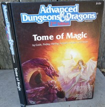 Tome of Magic: Adv Dungeons & Dragons 2nd Ed (1991 Hardcover) TSR #2121 - $30.00
