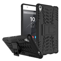 Shockproof Kickstand Protective Cover Case For Sony Xperia XA Ultra - Bl... - $4.99