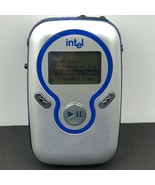Intel Pocket Concert 128MB Audio Player Tested & Working Blue Silver  - $49.98