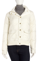Juicy Couture Puffer Jacket Dial Hooded Bomber XL MSRP: $248 - $148.49