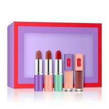 Clinique  'PLENTY OF POP' 5-PC Lip Gift Set Brand New In Box $72.00 VALUE!! - $22.72